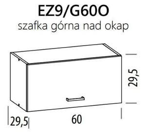 Augšējais skapītis ELIZA EZ9/G60o