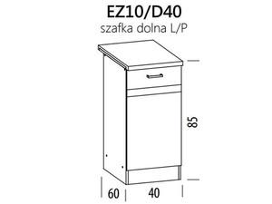 Apakšējais skapītis ELIZA EZ10/D40