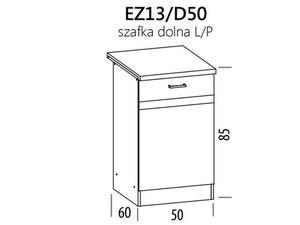 Apakšējais skapītis ELIZA EZ13/D50