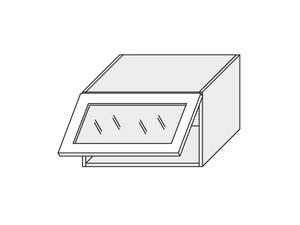 Augšējais vitrīnas skapītis Fino biale W4BS/60 WKF AVENTOS
