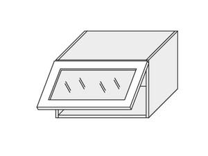 Augšējais vitrīnas skapītis Dust grey W4BS/60 WKF