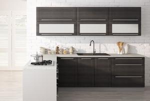 Virtuves skapītis Fino czarne 2D14K/40+cargo