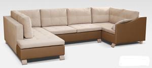 Stūra dīvāns Queen Maxi Wood