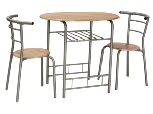 Galds + 2 krēsli ID-9694